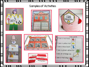 Fire Safety Interactive Activities, A 21st Century Unit!