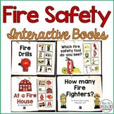 Fire Safety Interactive Books (Adapted Books For Special Education & Autism )