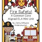 Fire Safety Mini Unit {Common Core Aligned}