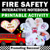 Fire Safety Craft for Fire Prevention Week Activities