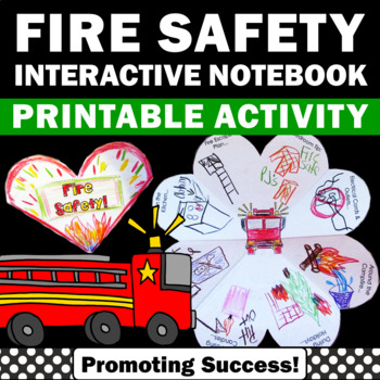 Fire Safety Week Printable Interactive Science Notebook Cr