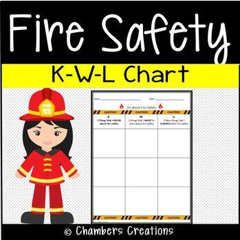 Fire Safety- KWL Chart