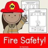 Fire Safety Activities (Kindergarten, Fire Safety Week)