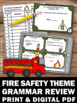 Fire Safety Activities, Language Arts Review Games