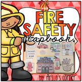 Fire Safety Lapbook { 14 foldables } Fire Prevention Week INB