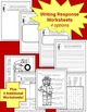 Fire Safety PowerPoint Lesson with Lesson Plan & Worksheets for K-2