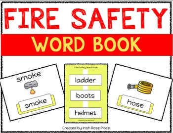 Fire Safety Leveled Word Books (Adapted Books)