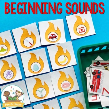 Fire Safety Literacy Activities for Pre-K and Kindergarten