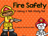 Fire Safety Literacy, Math, & Activities Pack