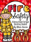 Fire Safety Literacy Packet {To Benefit Boston Firefighter Memorial Fund}