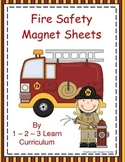 Fire Safety Magnet Sheets