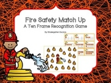 Fire Safety Match Up - A Ten Frame Recognition Game