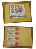 Fire Safety Matchbook Project