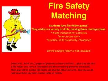 Fire Safety Matching