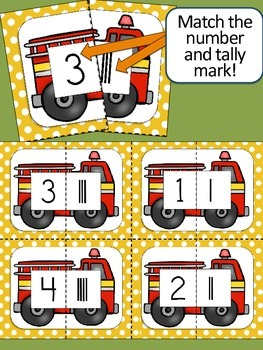 Fire Safety Matching Games