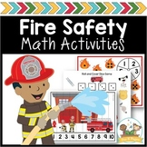 Fire Safety Math Activities for Pre-K