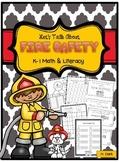 Fire Safety Math & Literacy