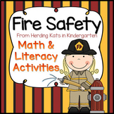 Fire Safety Math & Literacy Pack