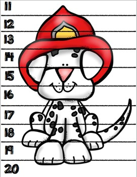 Fire Safety Math Puzzles