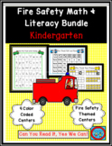 Fire Safety Math and Literacy Bundle