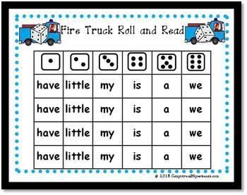 Fire Safety Math and Literacy Bundle