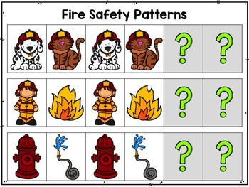 Fire Safety {Math and Literacy Centers}