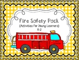 First Grade Health: Fire Safety