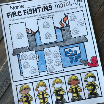 fire safety math and literacy worksheets for preschool by  fire safety math and literacy worksheets for preschool