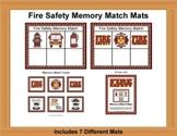 Fire Safety Memory Match Mats