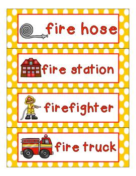 Fire Safety!  Mini Lesson for Preschool, Pre-K, K, & Homeschool