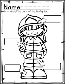 Fire Safety Mini Unit: Preschool, Pre-k and Kindergarten Resources