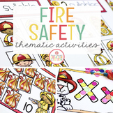 FIRE SAFETY UNIT FOR PRESCHOOL, PRE-K AND KINDERGARTEN