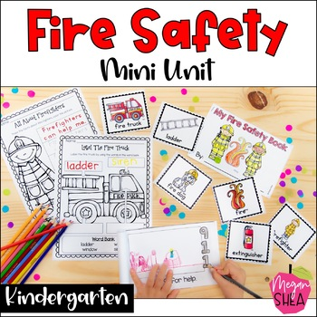 Fire Safety Mini Unit for Kindergarten