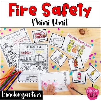 Fire Safety Mini Unit for Kindergarten