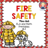 FIRE SAFETY ACTIVITIES FOR KINDERGARTEN AND FIRST GRADE