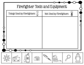 Fire Safety Mini Unit & Craftivity