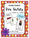 Fire Safety Minibooks BILINGUAL {Leveled Readers}