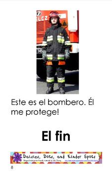 Fire Safety Minibooks SPANISH {Leveled Readers}