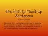 Fire Safety Mixed-up Sentences