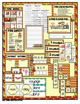 Fire Safety & More...Lesson Plans and Materials