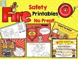 Fire Safety No Prep Activities