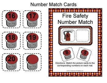 Fire Safety Number Match