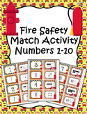 Fire Safety Number Match Activity