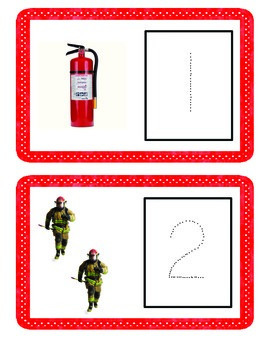 Fire Safety Number Trace 1-6