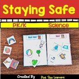Fire Safety PK and K Center Activities and Worksheets