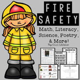 Fire Safety Bundle {Math, Literacy, Poetry, Science, & More!}