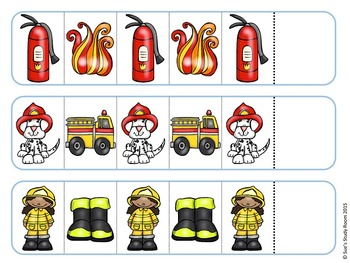 Fire Safety Pattern Cards