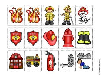 Fire Safety Pattern Cards