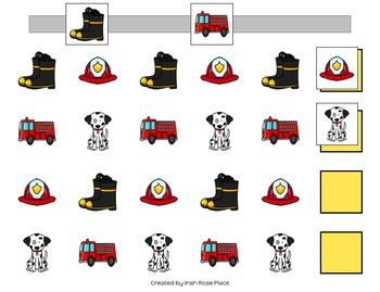 Fire Safety Pattern Mats