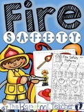 Fire Safety Pattern Practice & Pocket Chart Pieces